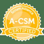 A-CSM Badge