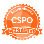 Certified Scrum Product Owner (CSPO) Badge